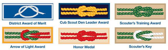 square knot award