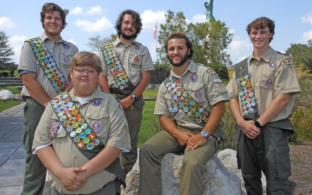 Troop 97 Eagle Scouts