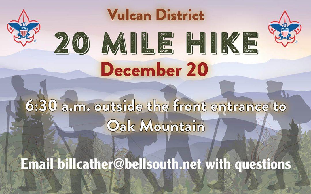2020 20-Mile Hike