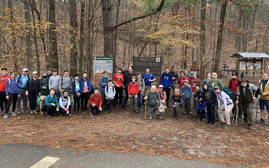 24th Annual 20-Mile Hike a Success!